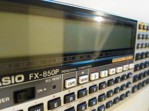 CASIO fx850P personal computer