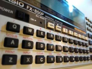 """CASIO FX-850P """"PERSONAL COMPUTER"""" ?"""